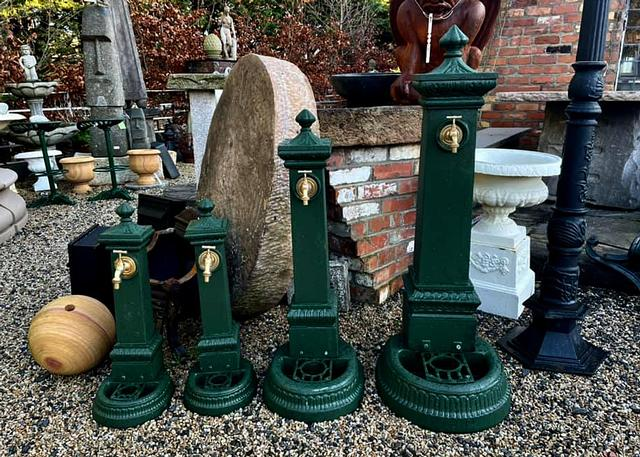 Decorative Cast Iron Water Fonts