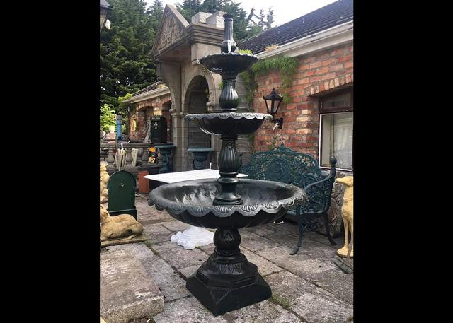 Cast Iron Fountain Large