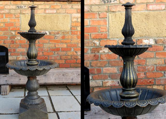 Cast Iron Fountain Small