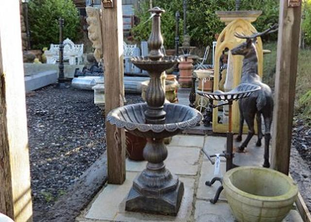 Cast-Iron Bronze Fountain