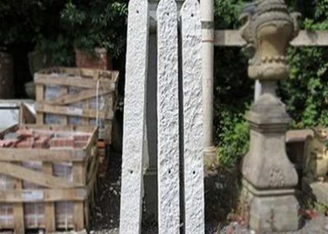 Granite Gate Posts