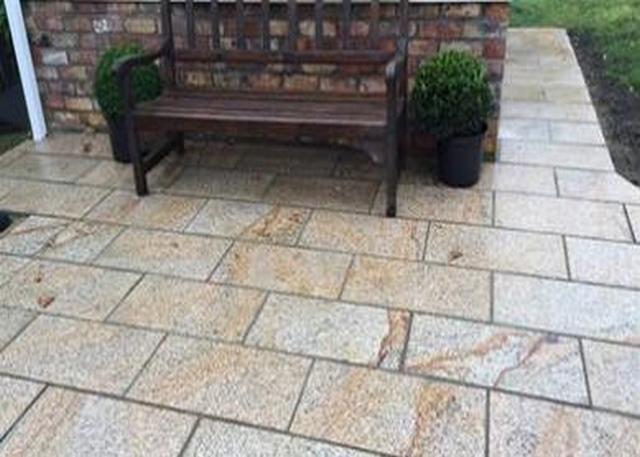 Granite Paving Brown