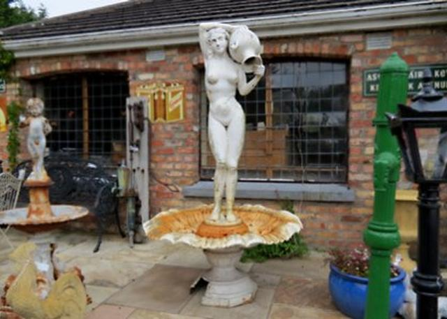 Lady and Jug Fountain
