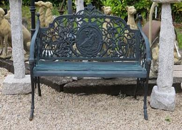 Lady Cast Iron Bench Medium