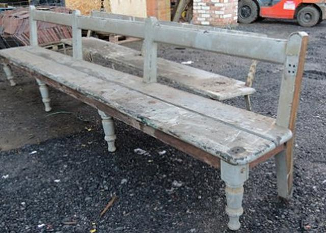 Original Connolly Station Platform Benches