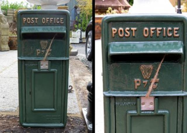 Cast Iron Post Box