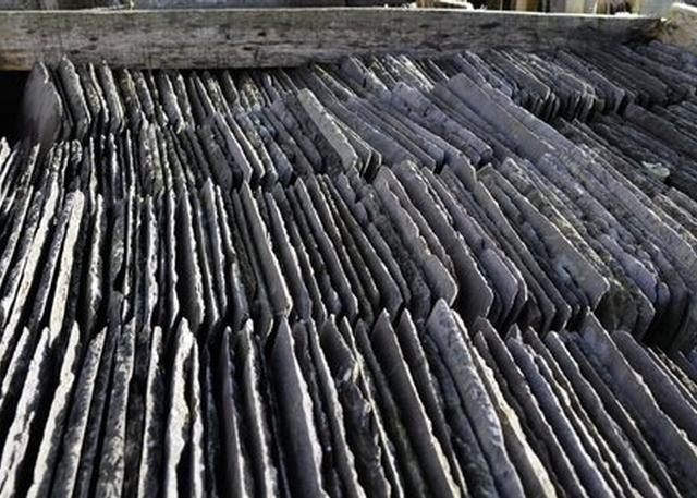 Selection of Reclaimed roof slates