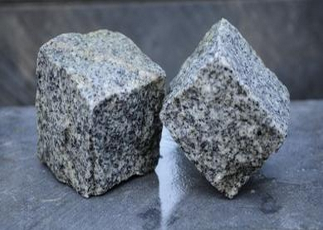 Split Grey Granite Cobblestones